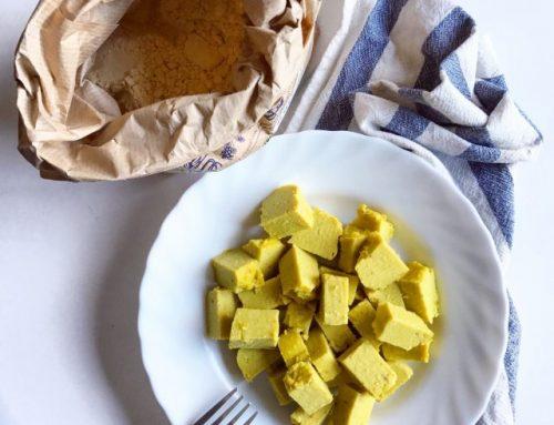 """""""Tofu"""" di farina di ceci"""