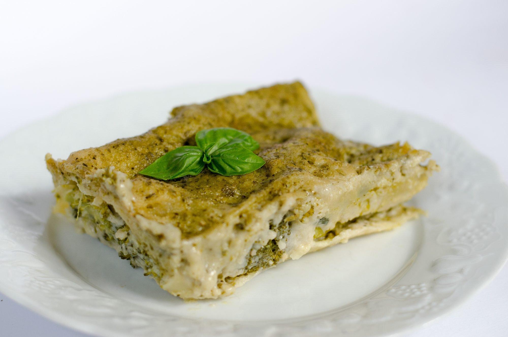 Ricetta Lasagne Vegane.Lasagne Vegan Al Pesto The Vegan Side Of The Moon