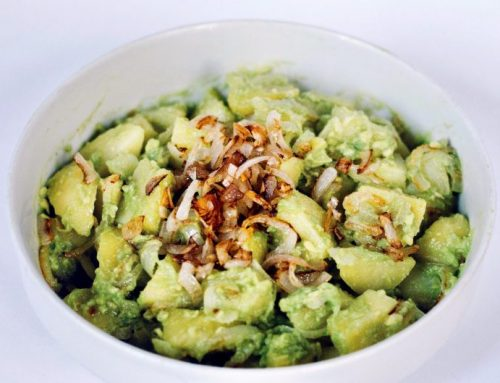 Insalata di patate e avocado